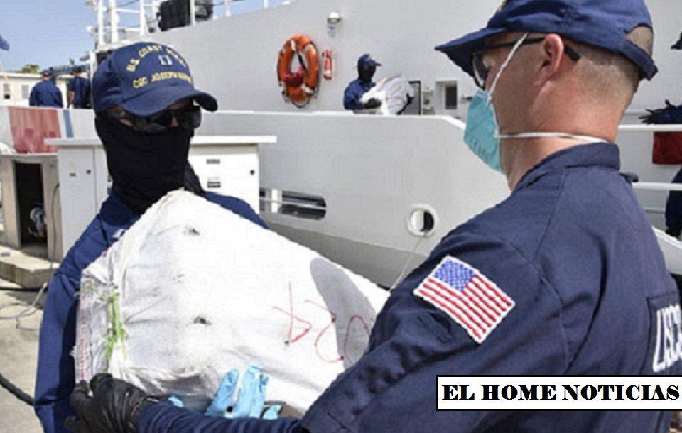Estados Unidos incauta cargamento de cocaina.