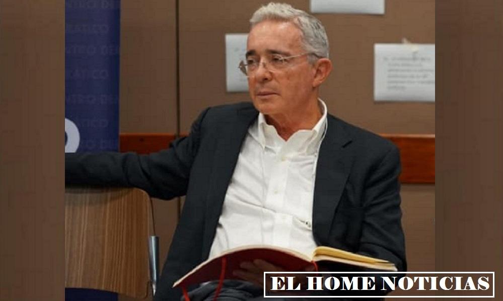 Álvaro Uribe Vélez, expresidente de Colombia.