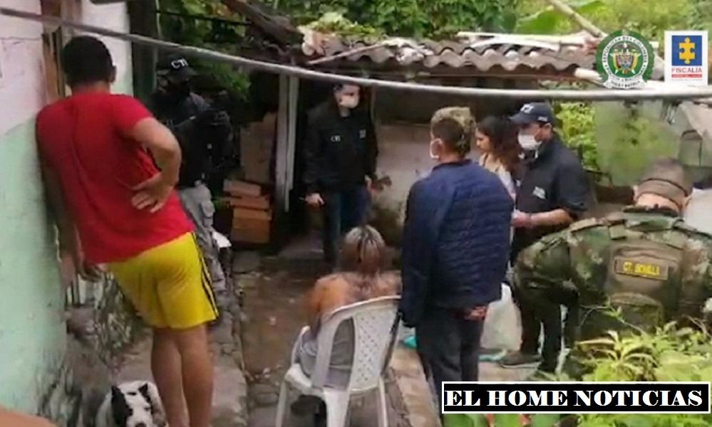 Captura de presuntos asesinos de 2 hermanas en Villa Mayor Bogotá.