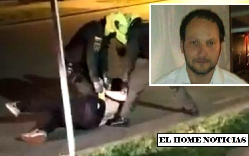 Javier Ordóñez Bermudez, víctima de abuso de la Policía.