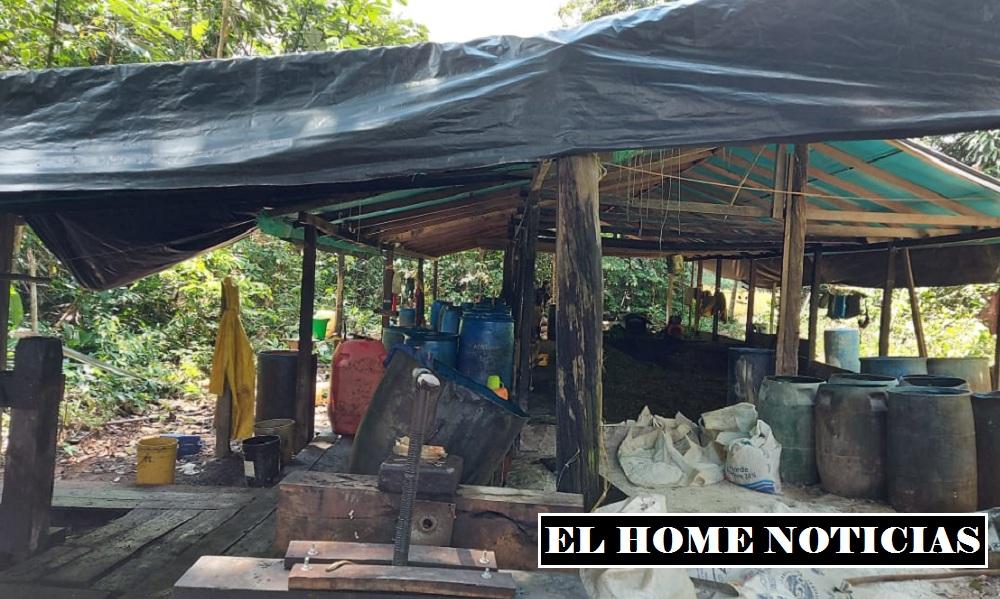 Laboratorio de las FARC