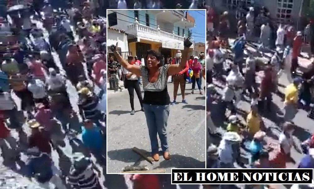 Protestas en Venezuela multitudinarias.