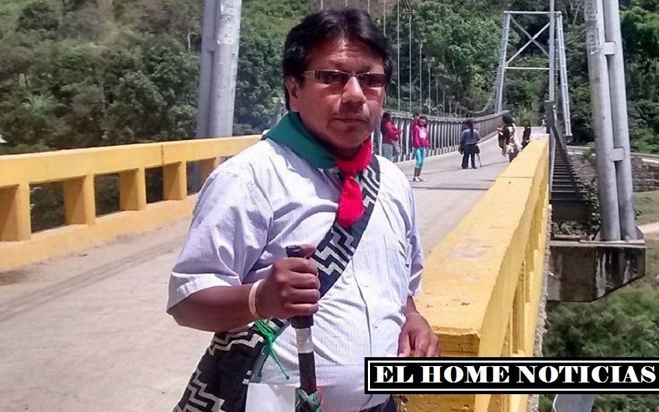 Gabril Pavi, murió en medio de la marcha.