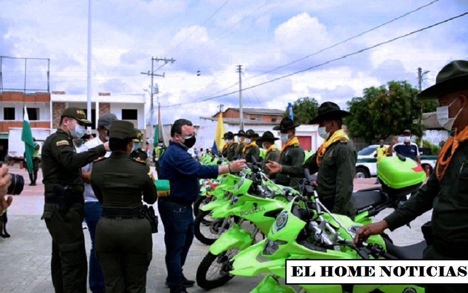 Motos de la Policía