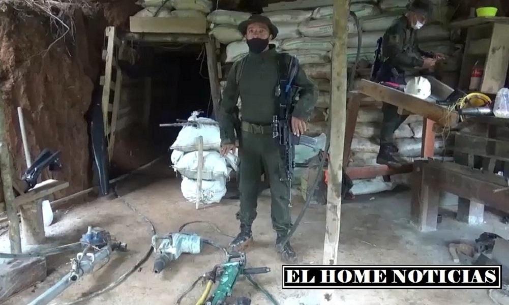 Operación contra la minería ilegal.