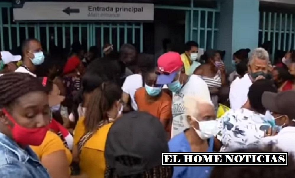 Damnificados en San Andrés.