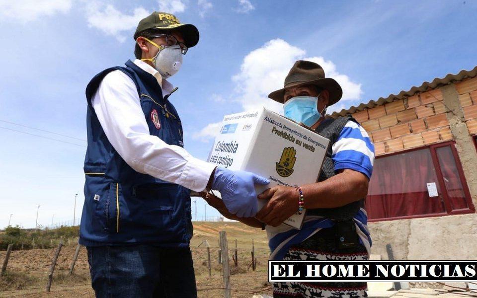 Ahyuda humanitaria en Colombia.l