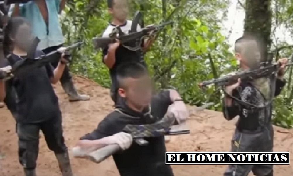 Niñas en las FARC