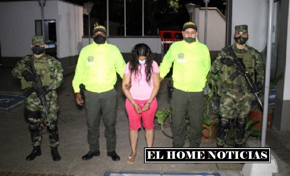Alias Andrea, guerrillera de las disidencias de las FARC.