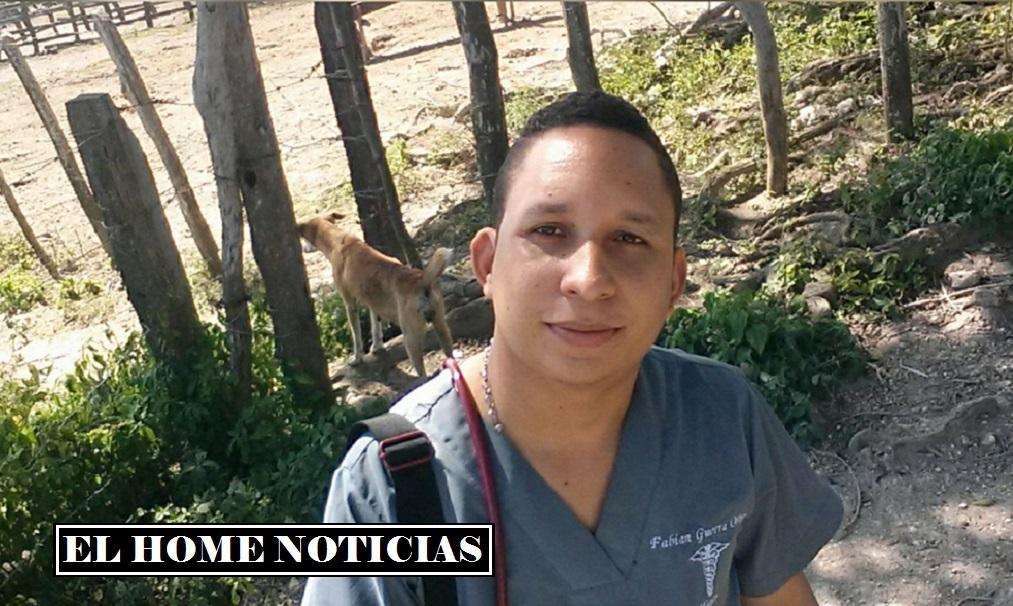Fabián Guerra Ortiz, el médico que hacía parte de la misión de salud que fue secuestrada, al parecer, por la guerrilla del ELN en el corregimiento de Tomarrazón, de Riohacha, La Guajira.