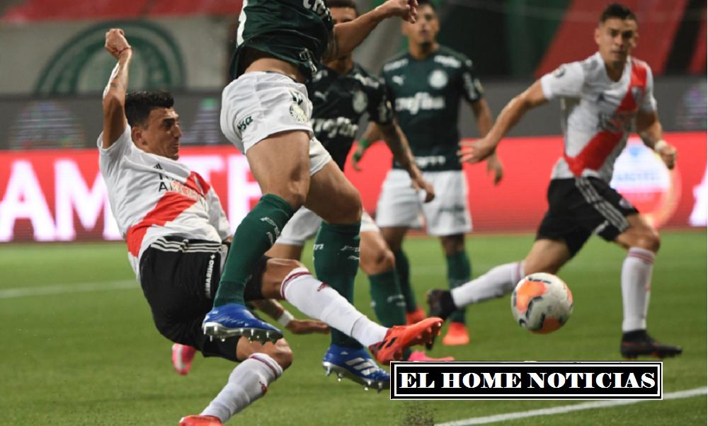 Santos Borré cabeceó en su zona un centro desde la derecha hecho por De la Cruz para anotar el 2-0 y quedar cerca del milagro para el segundo tiempo.