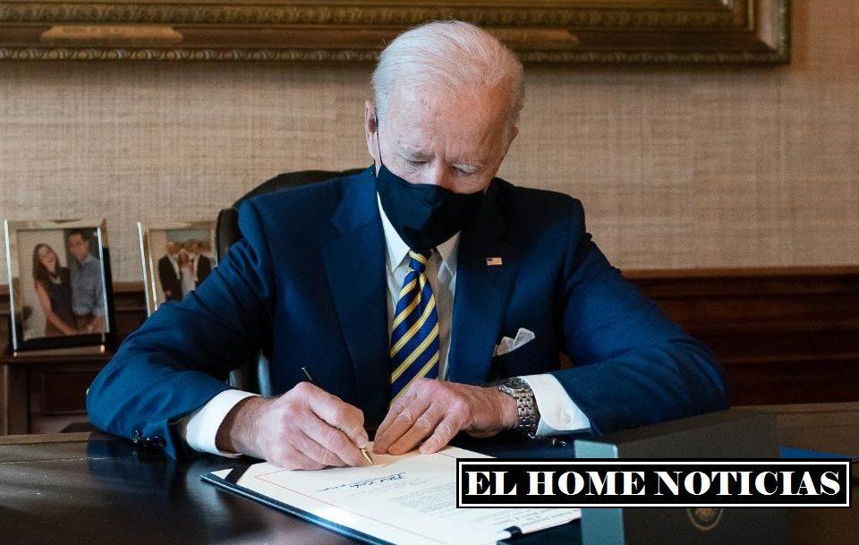 Joe Biden, presidente los Estados Unidos de Norteamérica.
