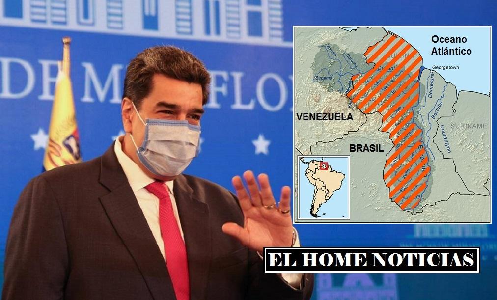 Nicolás Maduro y el territorio Esequibo.