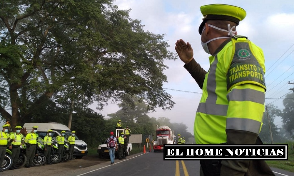 Policía de carreteras.
