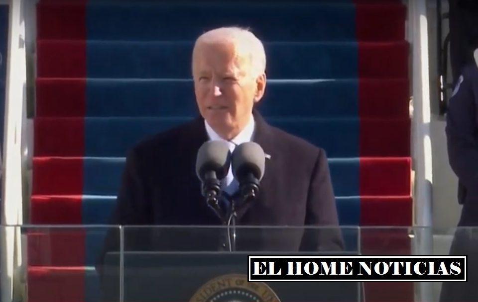 Posesión de Joe Biden.