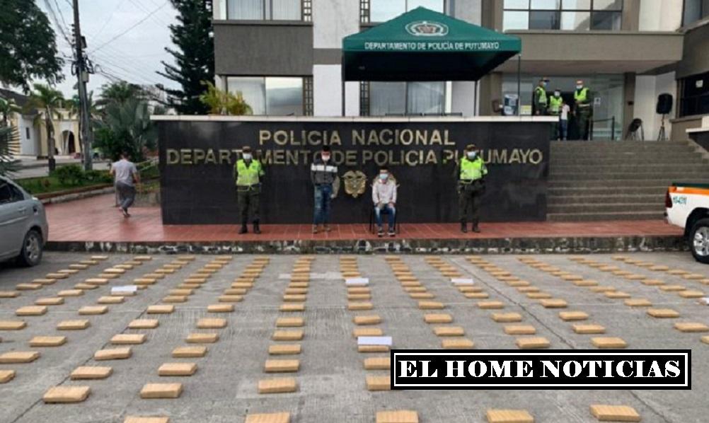 Capturados Edier Giovanny Piamba Guauna y Camilo Andrés Perafan Sánchez