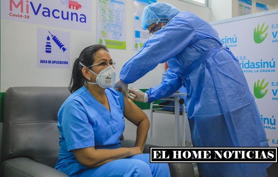 Vacunación en Colombia.
