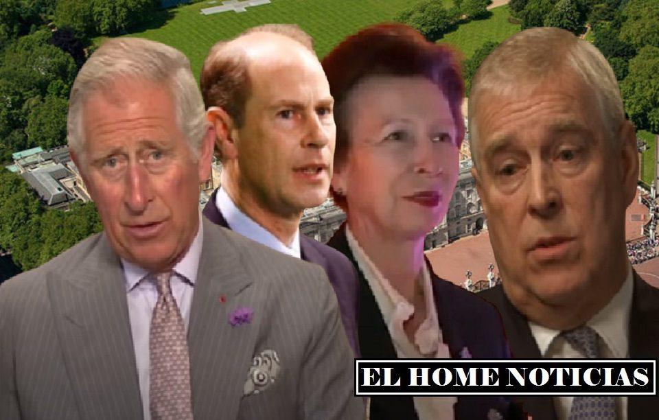 Los hijos del príncipe Felipe.