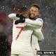 Cuando corrían menos de los 5 minutos del primer tiempo con un pase de Neymar puso al francés a definir con un zarpaso que Neuer no logró despejar
