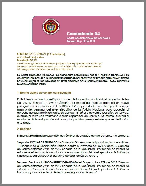 Sentencia Corte Constitucional.