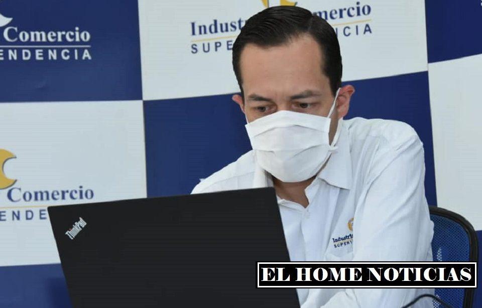 Superintendente de Industria y Comercio (SIC), Andrés Barreto.