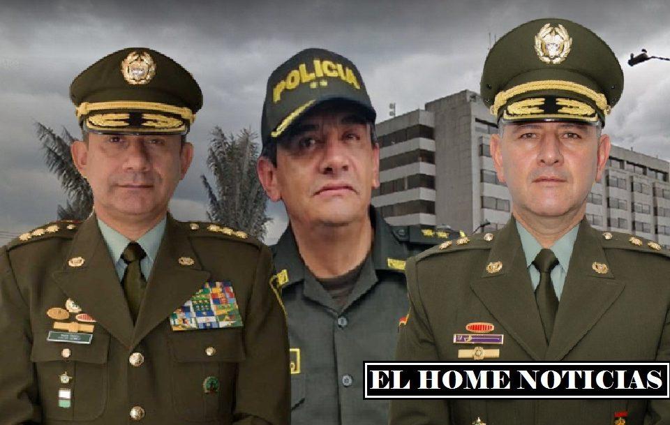 Generales de la Policía.