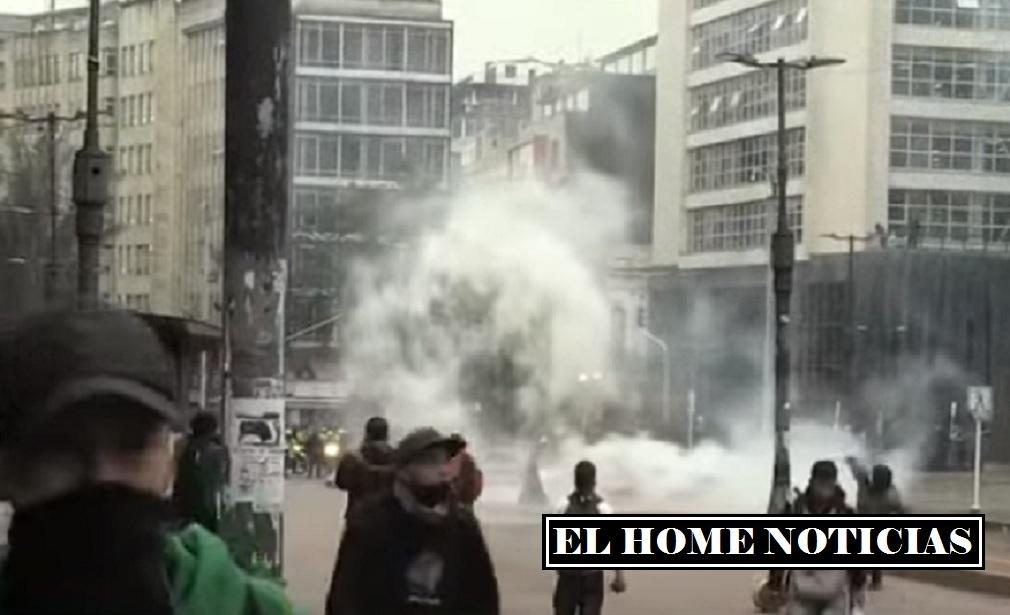 Vandalismo en Colombia.