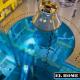 El agua permite simular la ingravidez, por lo que los miembros de las futuras tripulaciones de la ISS podrán prepararse para las nuevas condiciones