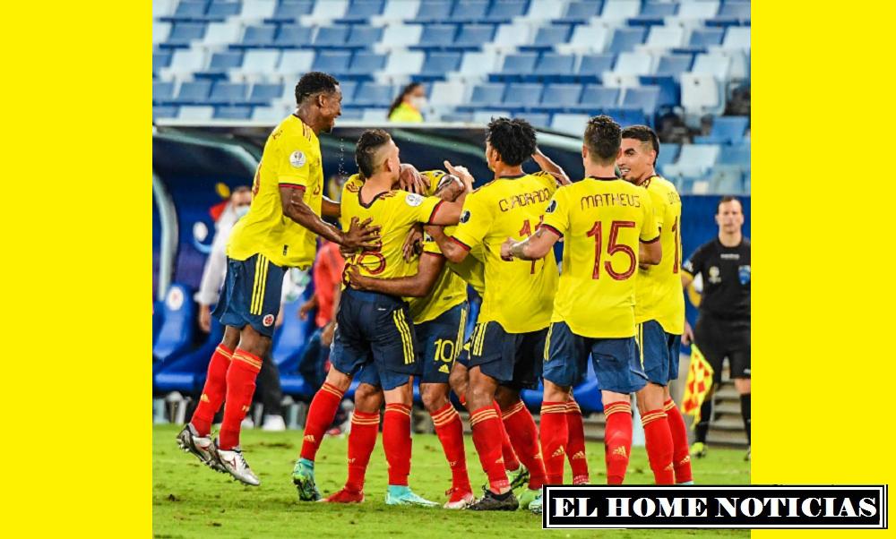 La selección Colombia se quedó con la victoria por la mínima diferencia y Juan Cuadrado fue la figura del encuentro, que dio los primeros puntos en la lucha por la copa continental. (Foto Cortesía: @FCFSeleccionCol)