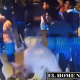 En las cámaras se logra observar la agresión de los jugadores del Boca hacia el cuerpo de seguridad del Atlético Mineiro.