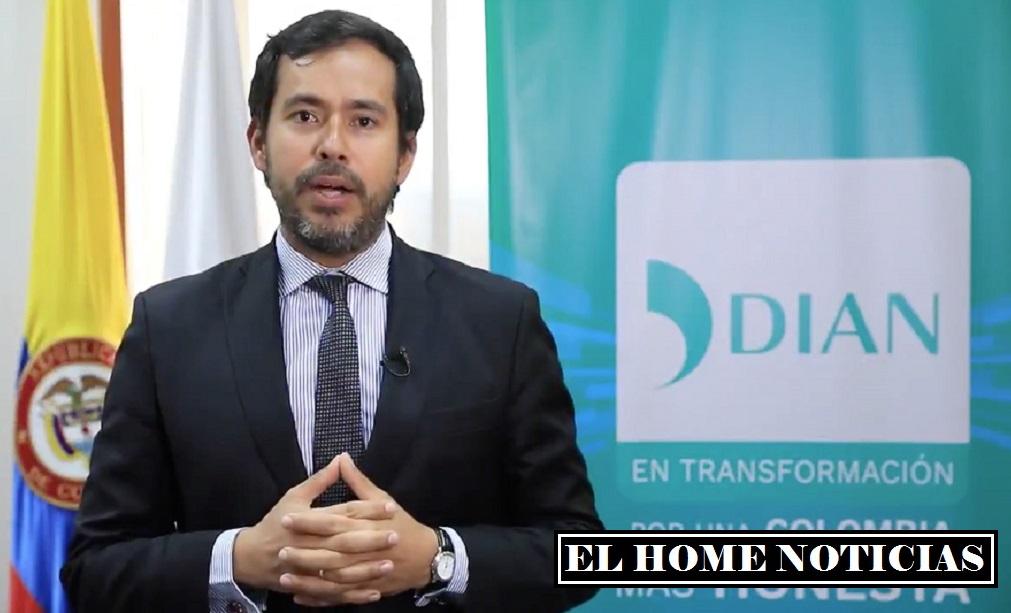 Lisandro Manuel Junco Riveira, director general de la DIAN,