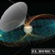 Juno solo recibe una señal cuando la rotación de Júpiter envuelve este cono sobre la nave espacial.