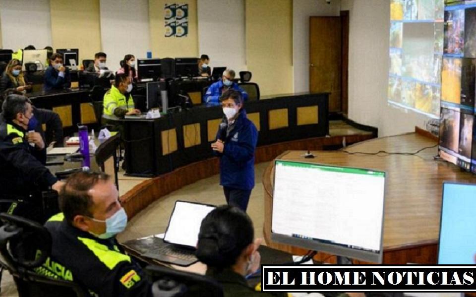 Alcaldesa de la ciudad Claudia López señala que en 45 puntos habrá concentraciones. (Foto Cortesía: Prensa Secretaría de Gobierno).