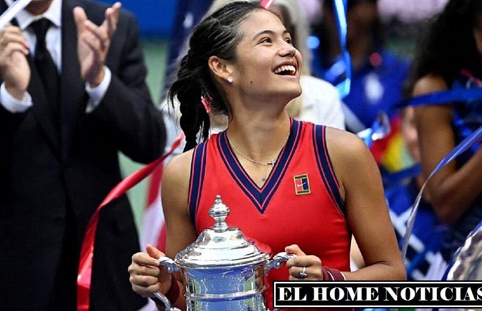 Raducanu se convirtió en la primer tenista en ganar un torneo de Grand Slam, llegando al cuadro principal en la clasificación general.
