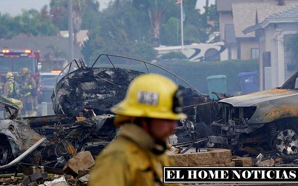 El accidente también fue captado por varias cámaras de vigilancia ubicadas en casas vecinas.