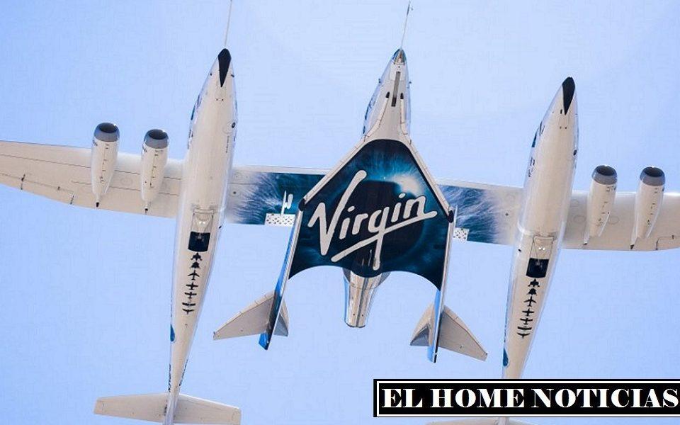 El vehículo fue elevado a una altitud de unos 15 km en un avión Eve, después de lo cual se separó y comenzó a moverse de forma independiente.